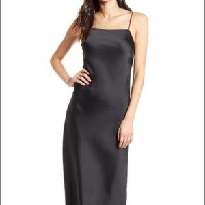 Top shop Satin Midi Dress